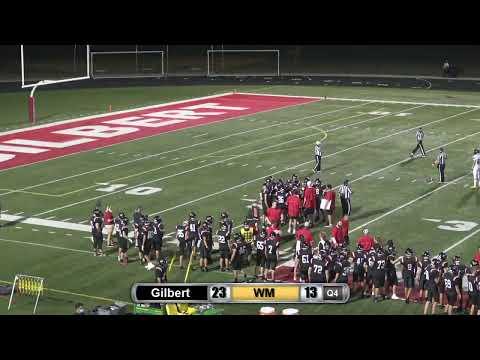 Gilbert Football Vs West-Marshall