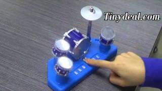 Mini DIY Finger Touch Drums Set w/ Music Toy FTY-22192