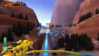 NERF N-Strike Elite (Wii) First mission gameplay