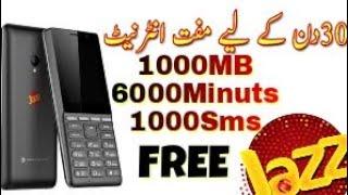 Mobilink Jazz Free Free Free Sub kuch   Free Internet Free Sms Free Minutes