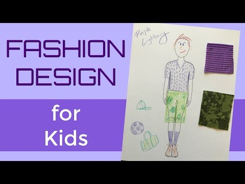 Career Day Teaching Kids About Fashion Design Youtube