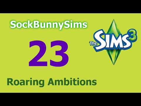 Sims 3 - Roaring Ambitions - Ep 23 - Fire Chief