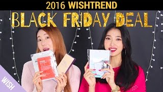 Wishtrend Black Friday 2016 Shopping Guide | Top 10 Black Friday Products | Wishtrend