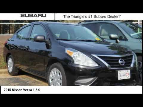 2015 Nissan Versa For Sale In Cary NC