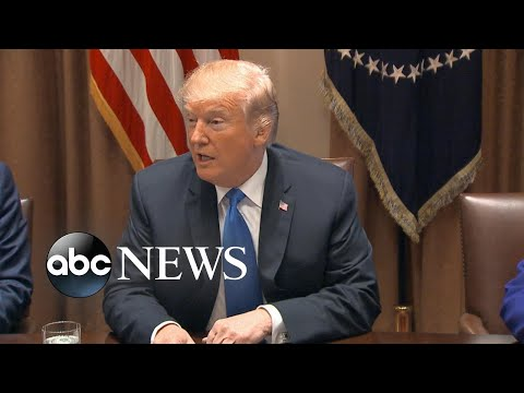 Trump calls out NRA in meeting on gun control