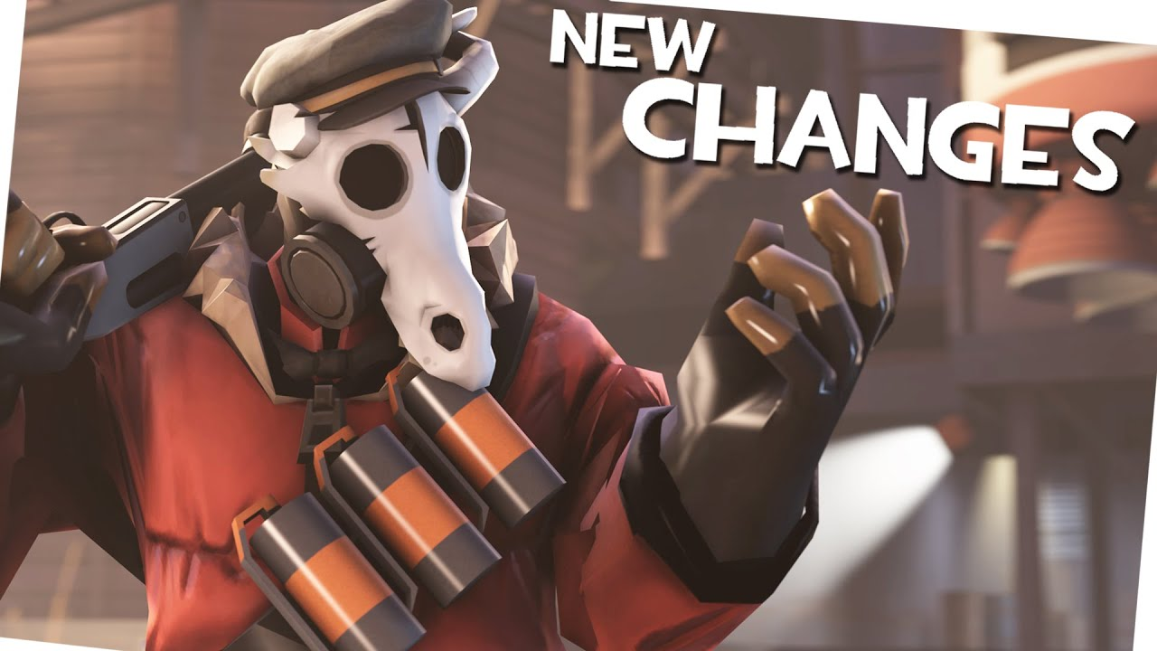 Team Fortress 2 Gameplay New Hud New Pyro Animations And More