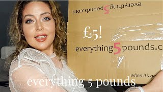 EVERYTHING 5 POUNDS HAUL | Tanya Louise