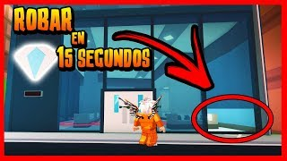 TIP TO ROBAR THE JOYERIA IN 15 SECONDS in JAILBREAK - ROBLOX