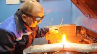 видео Газовая сварка цветных металлов