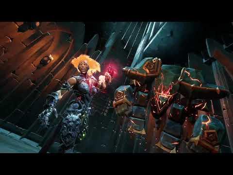 Darksiders III Aganosh (Keeper of Flame) BOSS FIGHT! |