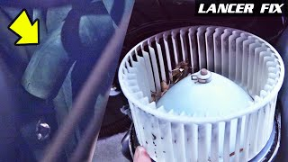 Lancer Fix 38 | AC Water Drain Pipe Clogged, Blower Motor