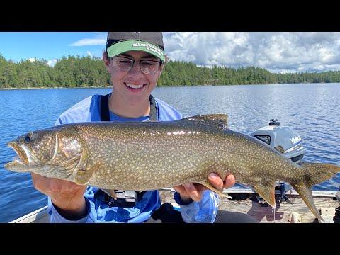 BIG Lake Trout With Ryan Edenborough | Northern Ontario Lake Trout Fishing