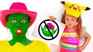 مايا وماري  أغنية الأطفال -  قواعد السلوك البسيطة  أفضل سلسلة قصص تربوية وأخلاقية للأطفال Kids Song