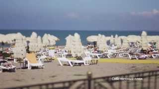 видео Санаторий Черноморец. Отдых в Песчаном. Отдых в Крыму