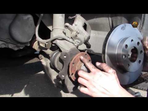 Ставим BREMBO тормозные диски на Ланос и колодки ATE.Put BREMBO brake discs on the car and pads ATE