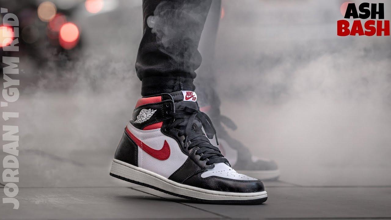 On Feet | Air Jordan 1 'Gym Red