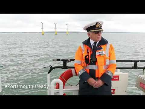 Carrier Queen Elizabeth, Pompey pilot prepped