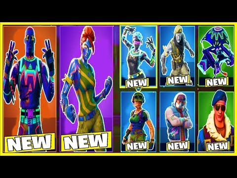 *NEW* SKINS, EMOTES, GLIDERS, PICKAXES & BACKBLING Coming To FORTNITE!