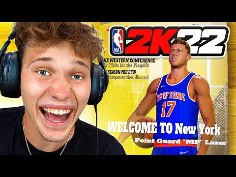 My First Game In The NBA! - NBA 2K22 My Career #5 |