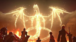 Dissidia Final Fantasy NT - Ending & Final Boss Fight (Shinryu Boss)