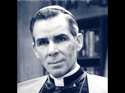 Daily Holy Hour-Talk By The Most Reverend Venerable Fulton John Sheen (Archbishop & Theologian)-JMJ