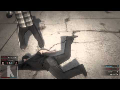 Gta5 online fist fight turns ugly