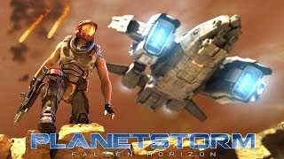 Planetstorm: Fallen Horizon mobile game intro