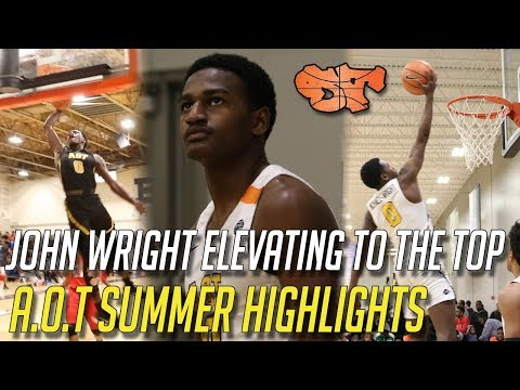 JOHN WRIGHT ELEVATING TO THE TOP A.O.T SUMMER HIGHLIGHTS