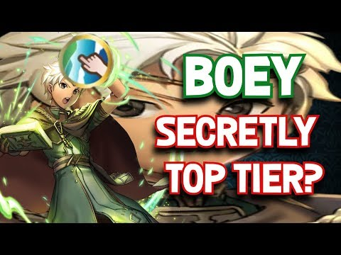 FEH: WHY BOEY IS SECRETLY A TOP TIER (Fire Emblem Heroes)