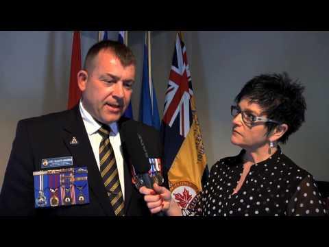 Entrevue avec Claude Racine, président de la Légion royale canadienne Filiale 265 Québec