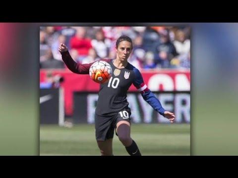 Carli Lloyd: scoring goals, now scoring sponsors