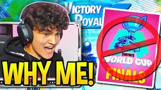 Everyone *HEARTBROKEN* as FaZe JARVIS gets *SUPER UNLUCKY* in Fortnite World Cup!