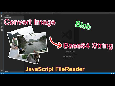 JavaScript – Convert Image To Base64 String Using FileReader Approach