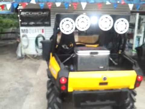 Can Am Commander Custom Audio Top Day Time Video Youtube