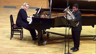 Sonata No. 6 in G Major by B Marcello for Euphonium Baritone