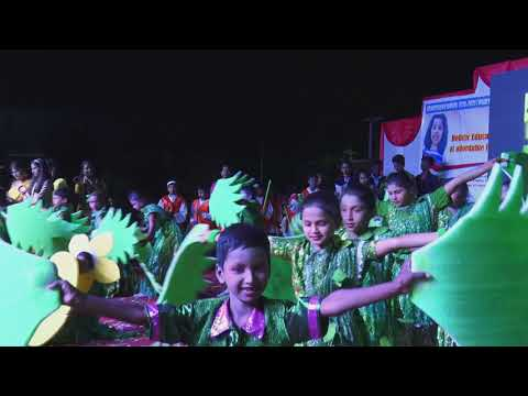 Swaach Bharath & Nature Dance Performance by Grade IV Students (Champapet Branch)