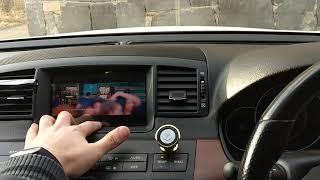 Android on Nissan Fuga 2004 / Aндроид на Ниссан Фуга 2004