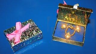 Как сделать украшения для кукол.Как сделать подарочную коробку для кукол(Сегодня мы сделаем украшения для кукол - подарочную коробку для кукол.Нам потребуется: Коробок от спичек,тк..., 2014-11-07T07:25:51.000Z)