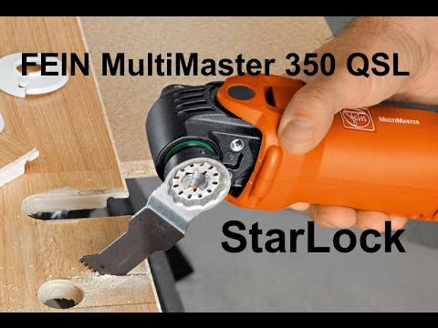 fein multimaster 350 qsl new starlock system youtube. Black Bedroom Furniture Sets. Home Design Ideas