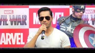 Varun Dhawan dubs for 'Captain America: Civil War' in hindi | MTunes HD