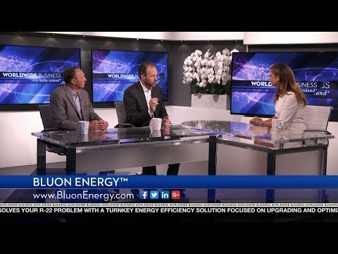 Bluon Energy™ featured on Worldwide Business with kathy ireland®