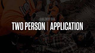 SAM® Pelvic Sling Training  |  Two Person Application  |  SAM Medical