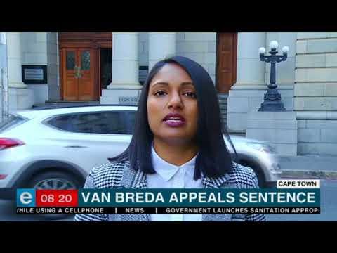 Van Breda appeals sentence