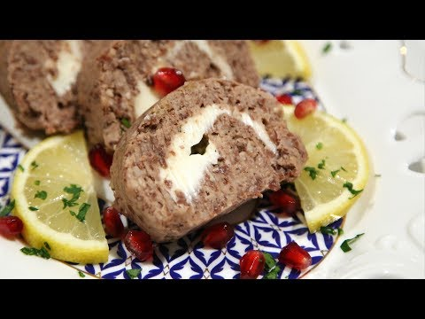 Լոբով Պաշտետ  Red Bean Roulette Recipe  Heghineh Cooking Show in Armenian