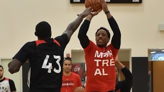 NBA 360 - Toronto Raptors All-Access Practice and Shooting Contest