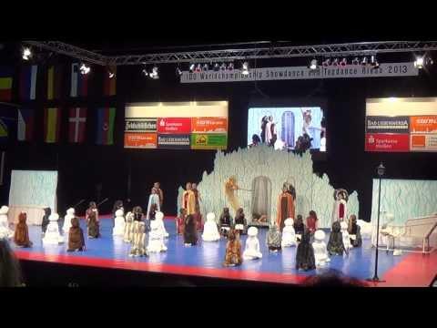 Gracja Łańcut - The Kingdom of Narnia - IDO Show Dance Riesa 2013