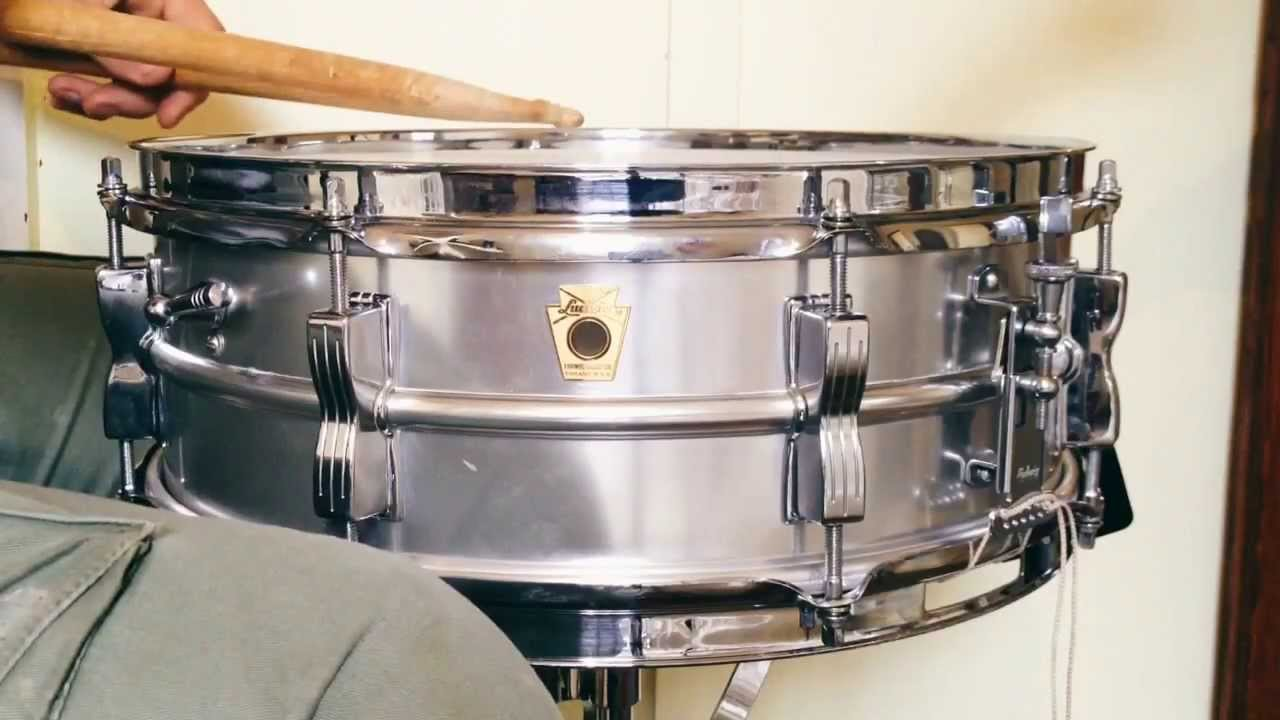 Ludwig Acrolite 1965 Snare Drum - YouTube