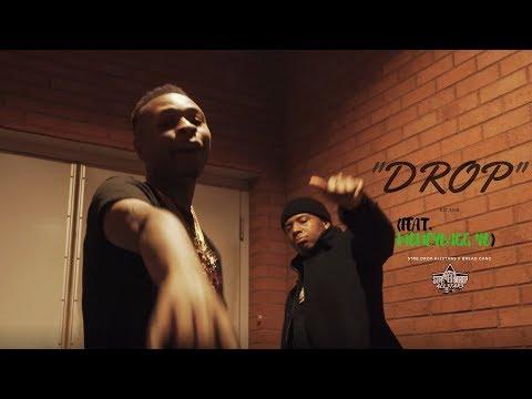 "Teflon Mark - ""Drop"" (feat.  Moneybagg Yo) [Official Music Video]"