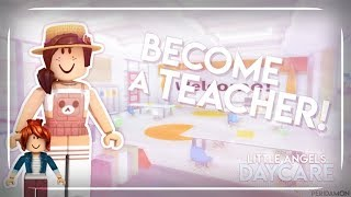 ROBLOX Tutorial | How to pass the Little Angels Daycare Quiz for Teacher.