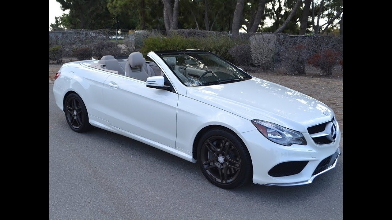sold 2014 mercedes e550 cabriolet for sale by corvette mike youtube. Black Bedroom Furniture Sets. Home Design Ideas